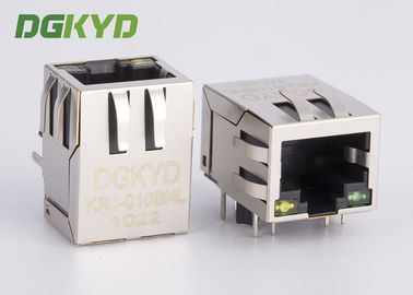 China Conector protegido del PWB del Magnetics Rj45 con el transformador integrado adaptable distribuidor